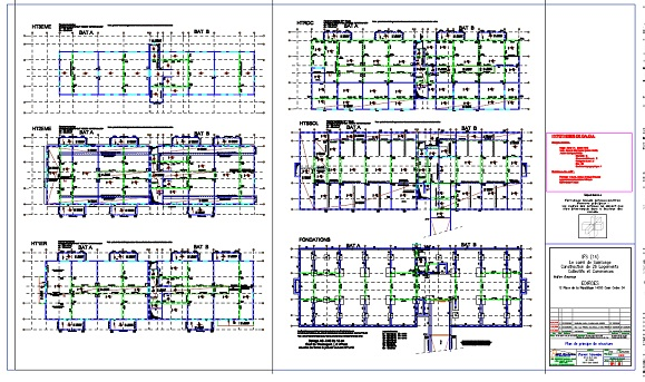 Nos r f rences construction de 26 logements collectifs for Dce batiment